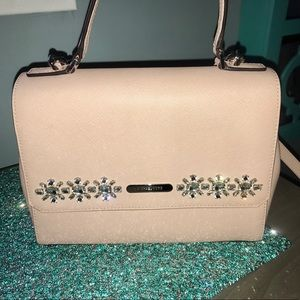 Gorgeous Michael Kors Blush Handbag w/ Rhinestones